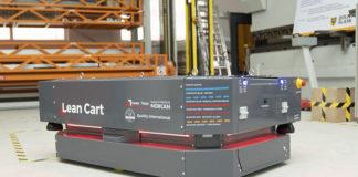 Roboty mobilne, wózki samojezdne AGV - Metody sterowania wózkami AGV